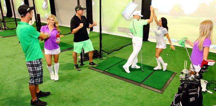 Golow Golf Las Vegas leagues